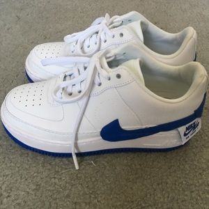 Nike Air Force I Jester XX in blue accent